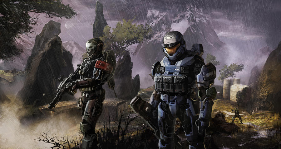 halo reach by Damrick