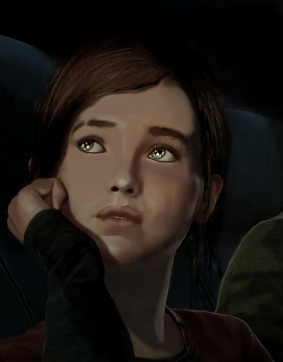 Ellie dans Last of US by Damrick