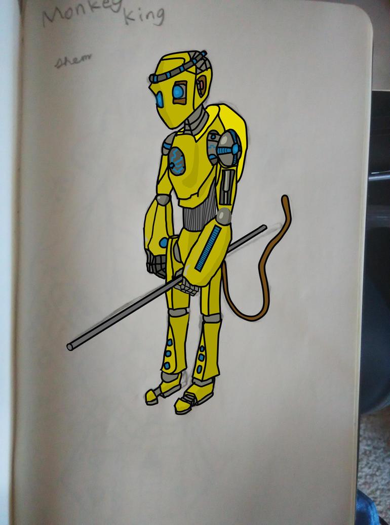 Robo Monkey King by jeshem