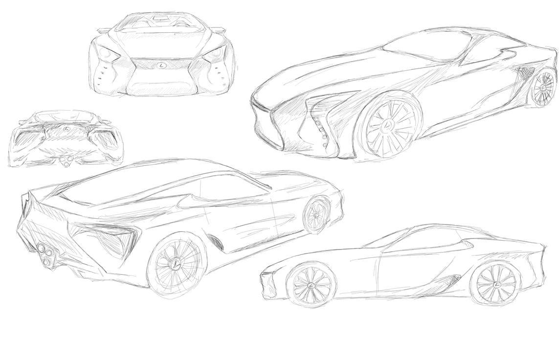 Lf Lc Design Sketch 1 3 By Saki Asakura On Deviantart