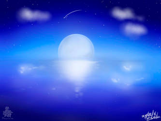 Moon Night by RScintillae