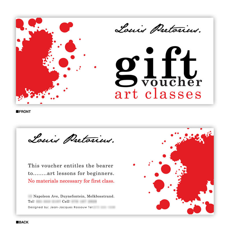 Gift Voucher Design By Jaan Jaak On Deviantart