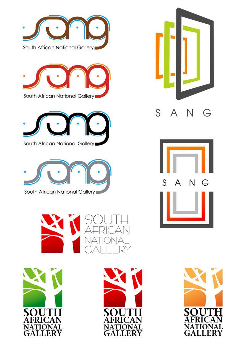 SANG -Logo Design Process  Jaan Logo
