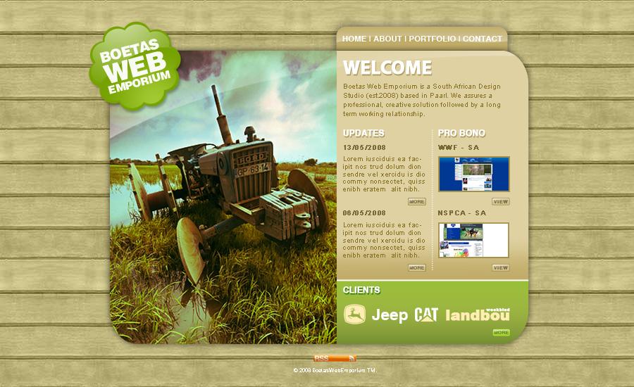 Boetas Web Emporium by Jaan-Jaak