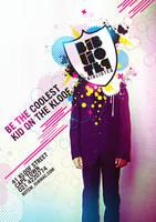 Biblioteq Poster Design by Jaan-Jaak