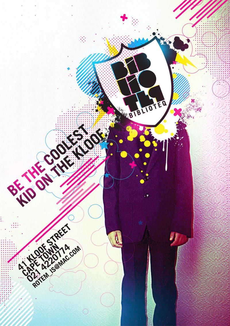 Biblioteq Poster Design