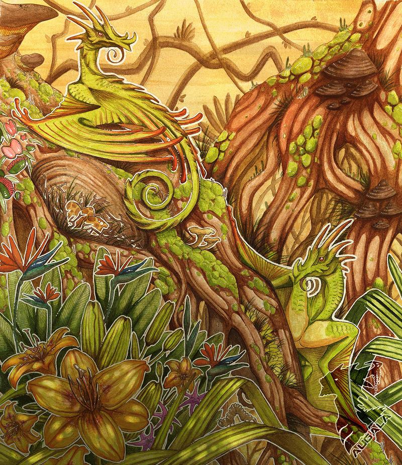 Hummingdragon's nest
