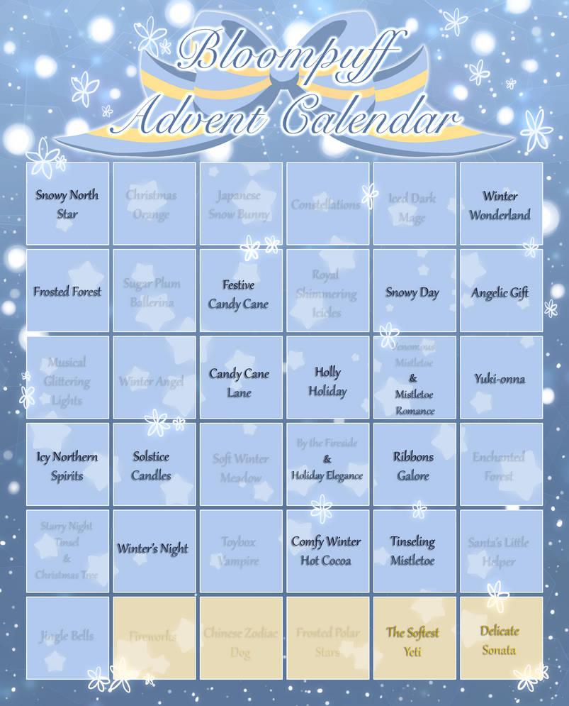 [BloomPuffs] Winter Advent Calendar [STILL Open] by TheStevieBoy
