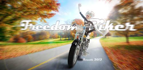 FREEDOM BIKER by ivanth