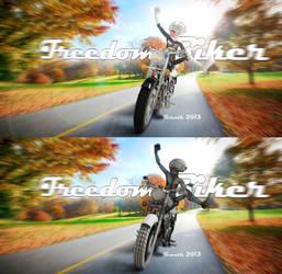 Biker Composite by ivanth