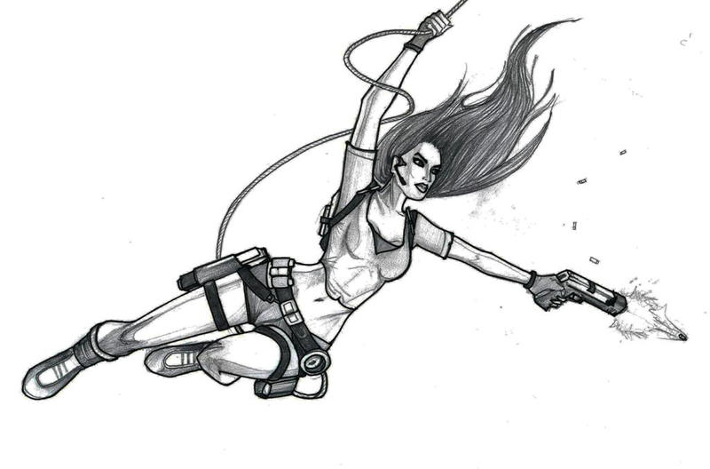 Lara Croft: Tomb Raider by Anton101