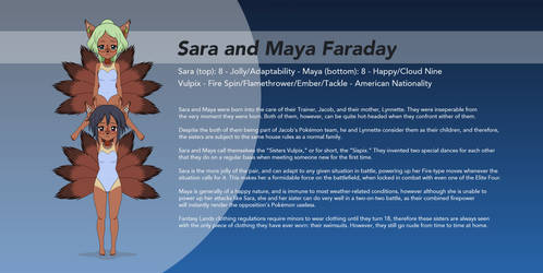 Pokemon Kisekae - Sara and Maya Faraday