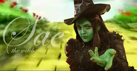 Sae as Elphaba by saethewitch