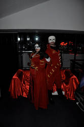 Red Death from The Phantom of the Opera by saethewitch
