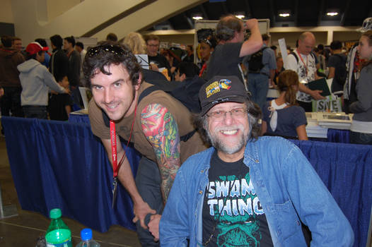 Len Wein and I.