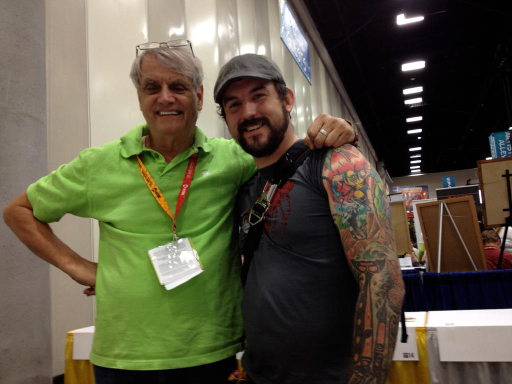 Meeting Herb Trimpe. by aaronjohngregory