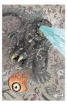 Godzilla vs. Hedorah, page 3.