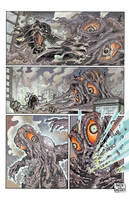 Godzilla vs. Hedorah, page 2. by aaronjohngregory