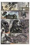 Godzilla vs. Hedorah, page 1.