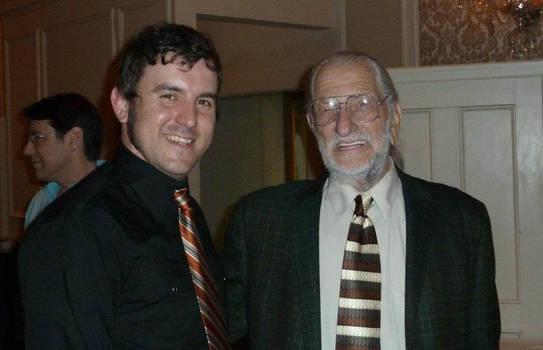 Joe Kubert and I.