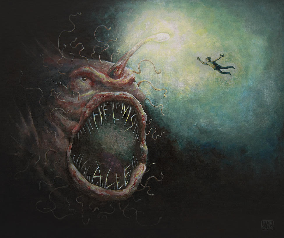 Helms Alee, 'Sleepwalking Sailors' album cover by aaronjohngregory