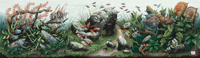 Conservatory of Flowers: Art of Aquascaping poster