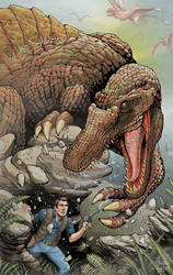 Spinosaurus by aaronjohngregory