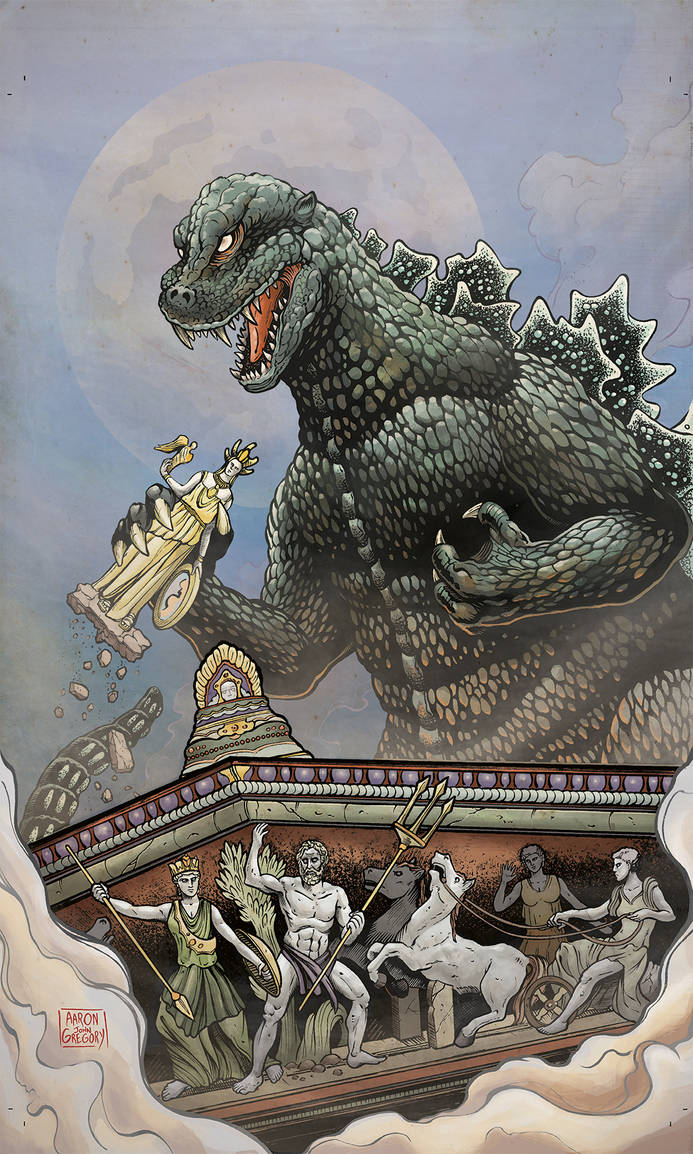 GODZILLA: Rage Across Time - Issue 2 RI cover
