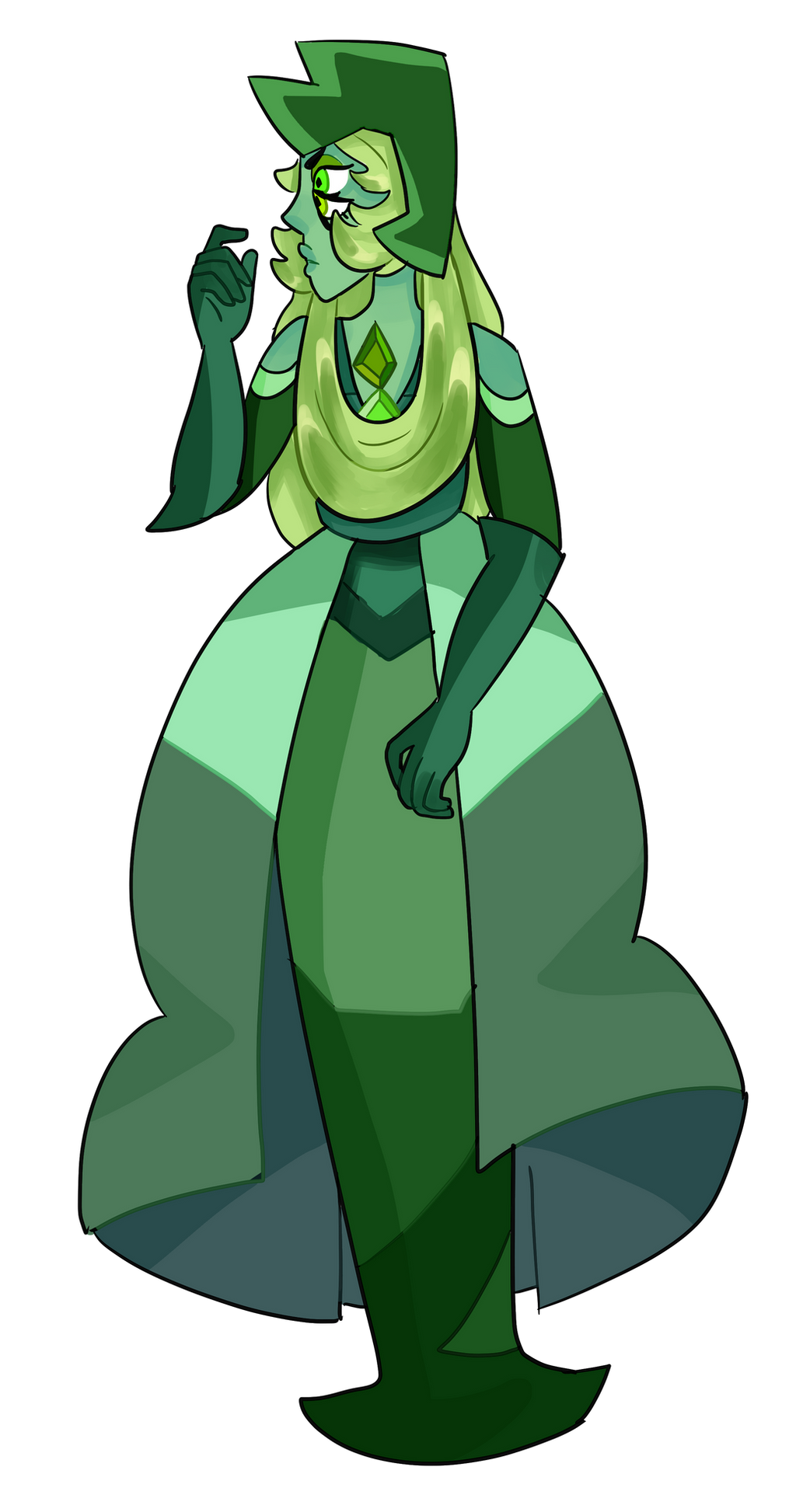 fusion green oc request su on by art diamond deviantart