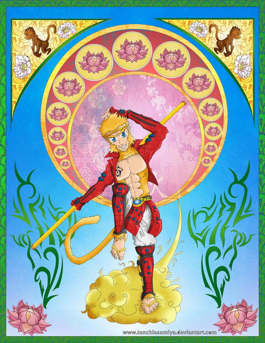 Sun Wukong - Monkey God by Tenchiasamiya