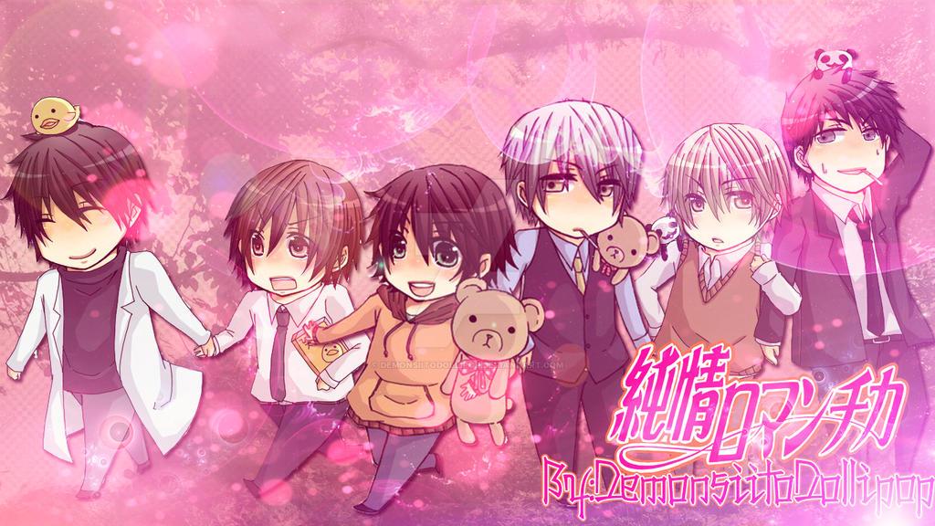 junjou romantica chibi by demonsiitodollipop d64qewe - Yaoi Anime Önerileri - Top 20 - Figurex Anime Önerileri