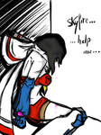 Helpless humanized Starscream