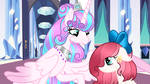 Mlp next gen  You are a princess like me :3 by Lilywolf989