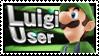 Super Smash Bros Wii U / 3Ds - Luigi Stamp User by Techn0Vibes