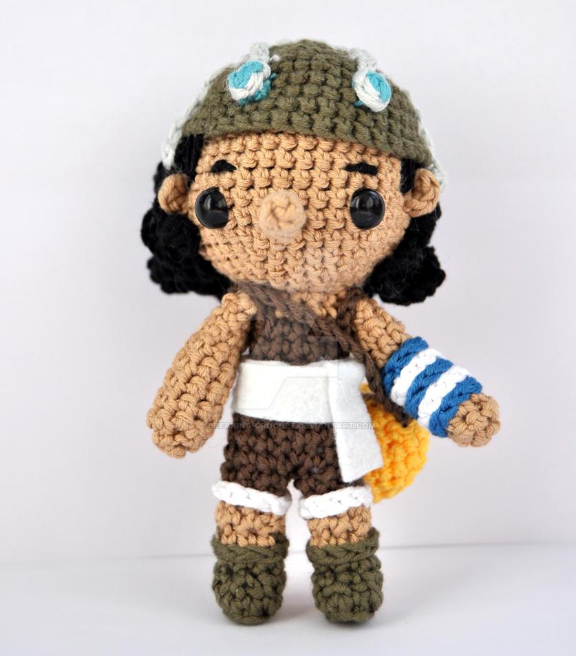 Amigurumi One Piece : Usopp amigurumi by Breaking-crochet on DeviantArt
