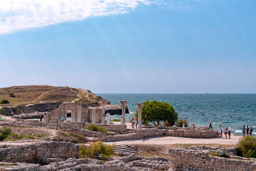Crimea. Tauric Chersonesos. by Jlbcctq