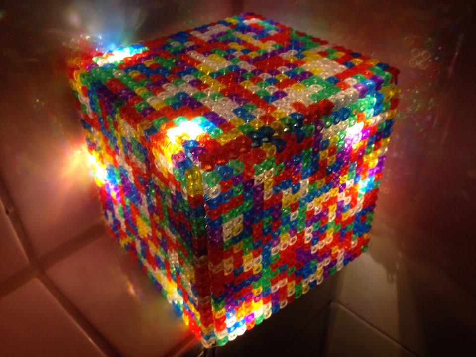 hama led lightcube by derdanjo on deviantart