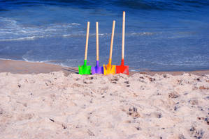 4 shovels by ApplePo3