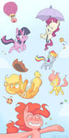 it's raining ponies