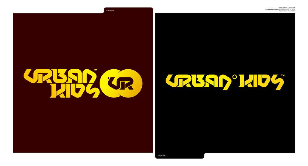 urban kids logotype by Raven30412