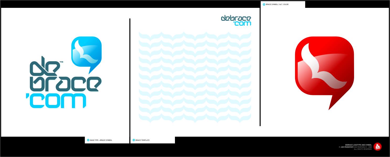 debrace logo+type by Raven30412