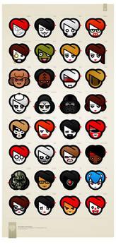 visualscream characters