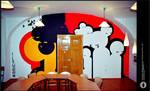 wall painting - 'ampules'