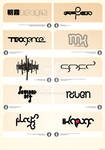 few logotypes