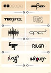 few logotypes