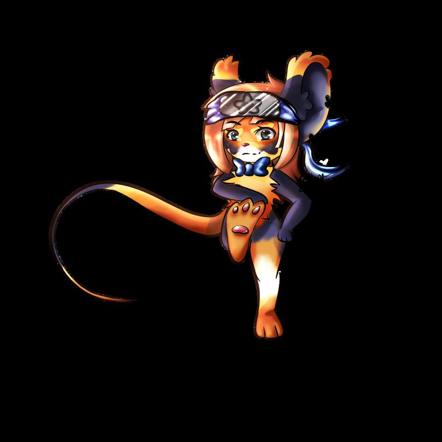 Ninja Mouse by bbdeea