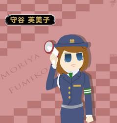 Moriya Fumiko by JelliPuddi