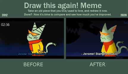 Jerome Comparison (2012 vs 2020)