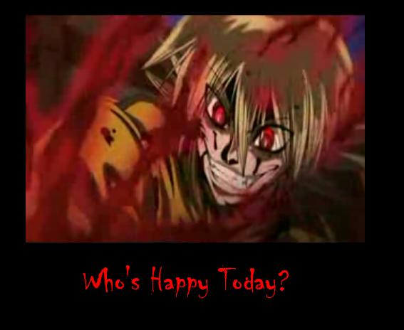 Who's Happy Today? by Lazerez