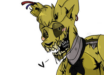 SpringTrap (OLD AS HELL.) by TheFuzzyDonut
